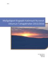 LSB Annual Report 2015-2016 Innuinaqtun