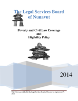 Poverty and Civil Law Coverage and Eligibility Policy