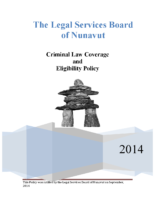 Criminal Law Eligibility Policy – September 2014