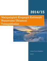 LSB Annual Report 14-15 – Inuinnaqtun