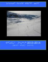 LSB Annual Report 2014 Inuktitut