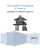 Legal Aid Appeal Process – September 2014