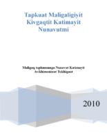 Maligaq taphumunga Nunavut Katimayit Avikhimaninut Tukhigaut
