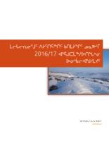 LSB Annual Report 16-17 – Inuktitut